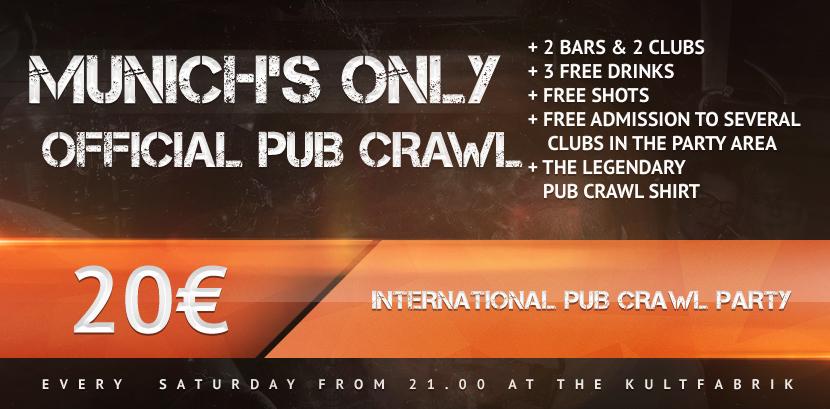 Pub Crawl Munich